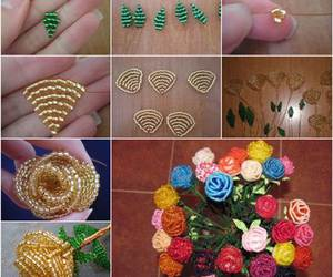 beading, instructions, and crafts image