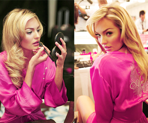 Victoria's Secret, blonde, and model image