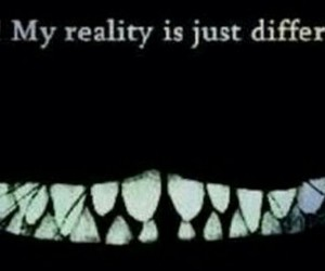 alice in wonderland, insanity, and reality image