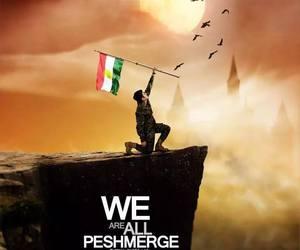 kurd, kurdish, and kurdish flag image