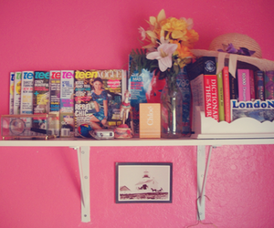 bedrooms, flowers, and pink image