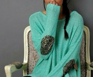 accessoires, hair, and sweater image