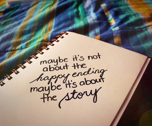 story, quotes, and happy ending image