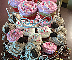 candy, cupcakes, and delicious image