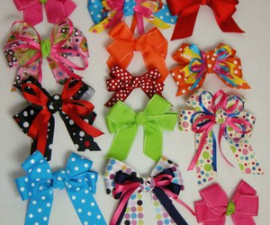 bows, girl, and cute image