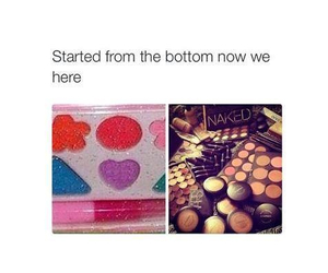 makeup, funny, and true image