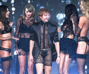 Taylor Swift, ed sheeran, and funny image