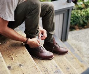 boots, menswear, and men fashion image