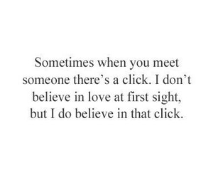 love, click, and quote image