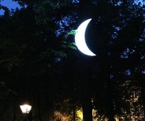 crescent, crescent moon, and Leonid Tishkov image