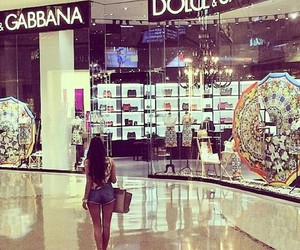 girl, luxury, and shop image