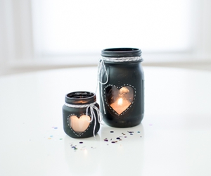 candle, black, and decoration image
