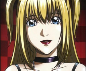 anime, misa, and death note image