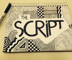 band, drawing, and the script image