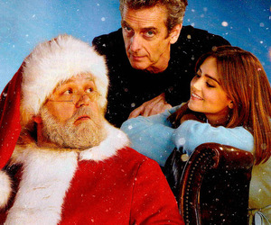 christmas, dr who, and clara oswald image