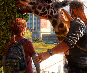 Girafe and the last of us image