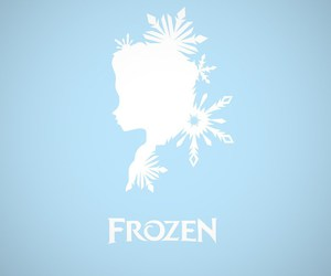 frozen, disney, and blue image