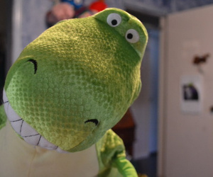 cute, toy story, and dinosaur image