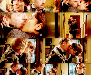 cuddy, dr house, and love image