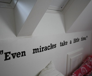 miracle, text, and quote image