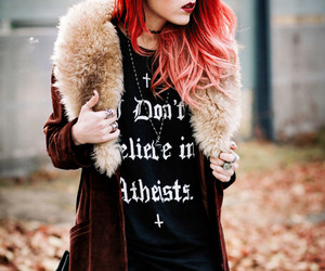 fashion, red hair, and style image