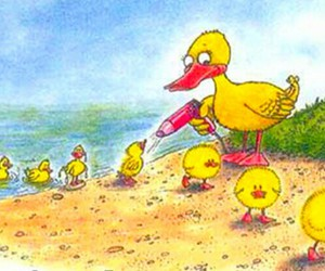 duck, funny, and lol image