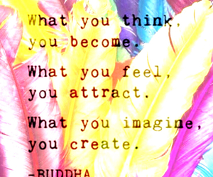 positive, quotes, and thinking image