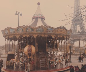 autumn, carousel, and colors image