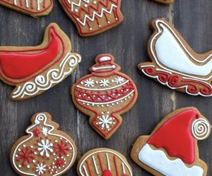 christmas, biscuits, and Cookies image