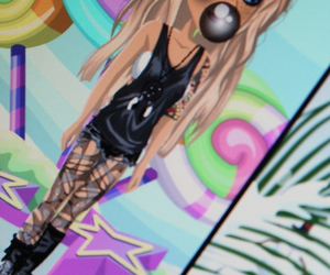 fille, girl, and msp image