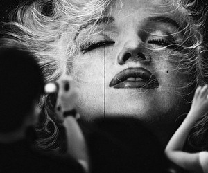 Marilyn Monroe, photography, and photo image