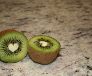fruit, green, and heart image