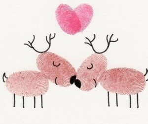 love and deer image