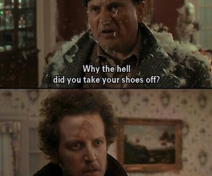 home alone and funny image