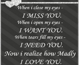 eyes, I Love You, and i miss you image