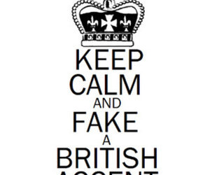 keep calm, british, and fake image