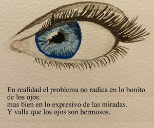 eyes, frases, and look image