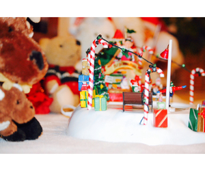 candy cane, christmas, and snow image