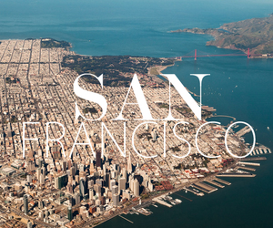 san francisco, city, and travel image