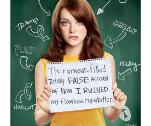 easy a, movie, and emma stone image