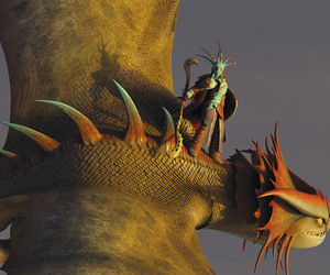 httyd 2, valka, and cloudjumper image