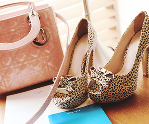shoes, heels, and bag image