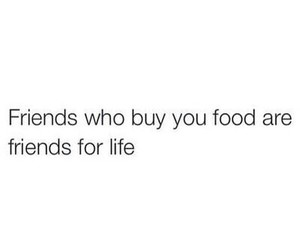friends, food, and life image
