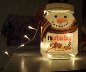 nutella, christmas, and snowman image