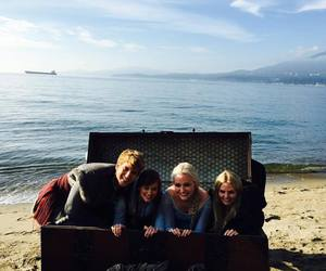 Jennifer Morrison, elizabeth lail, and once upon a time image