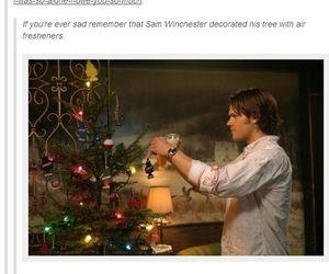 christmas, sad, and supernatural image