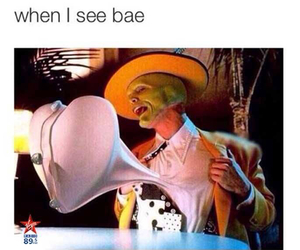 funny, bae, and love image
