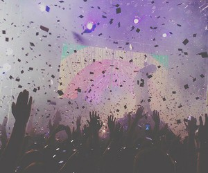 party, concert, and music image
