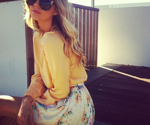beauty, fashion, and summer image