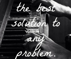 music, problems, and solution image